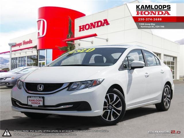 2015 Honda Civic EX (Stk: 13852A) in Kamloops - Image 1 of 25