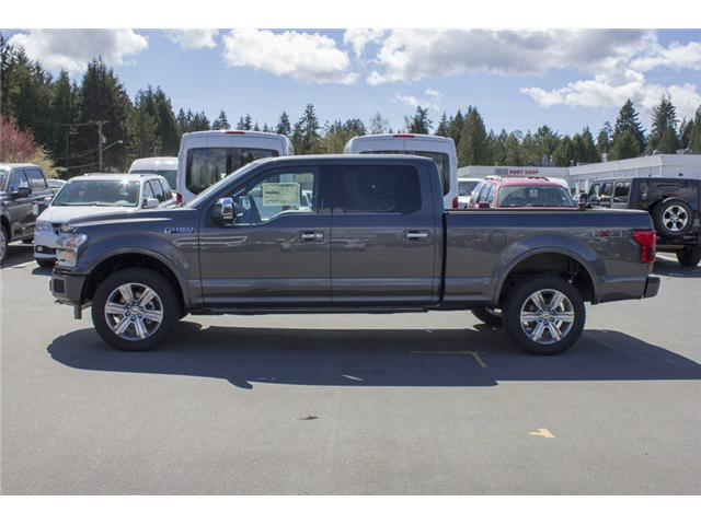 2018 Ford F-150 Platinum (Stk: 8F16204) in Surrey - Image 4 of 26