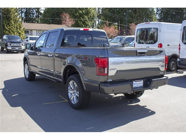 2018 Ford F-150 Platinum (Stk: 8F16204) in Surrey - Image 5 of 26