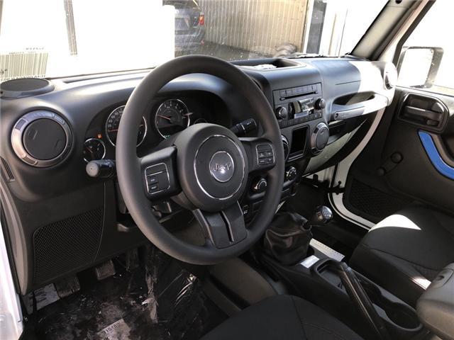 2018 Jeep Wrangler JK Sport (Stk: 12866) in Fort Macleod - Image 10 of 14