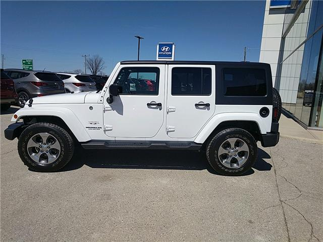 2017 Jeep Wrangler Unlimited Sahara (Stk: 85030) in Goderich - Image 2 of 15