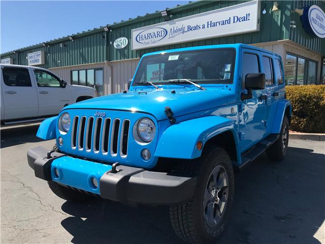 2017 Jeep Wrangler Unlimited Sahara (Stk: 9908) in Lower Sackville - Image 1 of 16