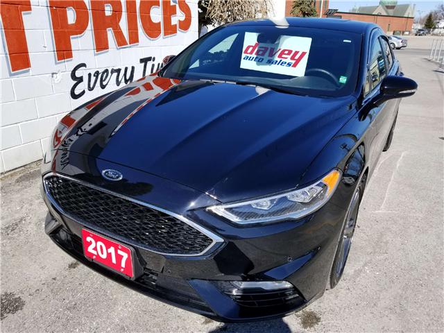 2017 Ford Fusion V6 Sport (Stk: 18-008) in Oshawa - Image 1 of 17