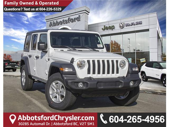 2018 Jeep Wrangler Unlimited Sport (Stk: J153699) in Abbotsford - Image 1 of 26