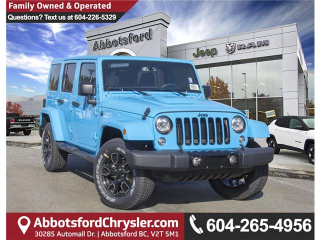 2018 Jeep Wrangler JK Unlimited Sahara (Stk: J801585) in Abbotsford - Image 1 of 23
