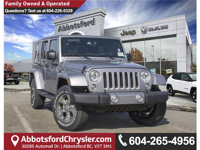 2018 Jeep Wrangler JK Unlimited Sahara (Stk: J863953) in Abbotsford - Image 1 of 25