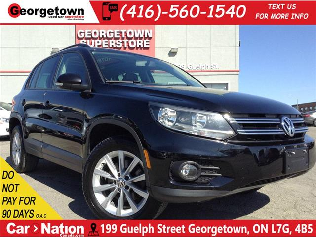 2015 Volkswagen Tiguan Comfortline|PANO ROOF|ALL WHEEL DRIVE|LEATHER (Stk: P10869) in Georgetown - Image 1 of 23