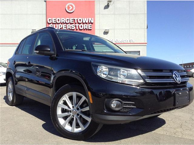 2015 Volkswagen Tiguan Comfortline|PANO ROOF|ALL WHEEL DRIVE|LEATHER (Stk: P10869) in Georgetown - Image 2 of 23