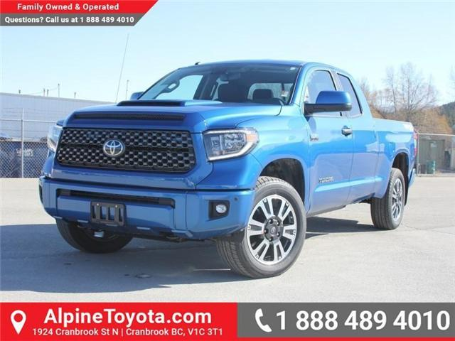 2018 Toyota Tundra  (Stk: X731665) in Cranbrook - Image 1 of 17