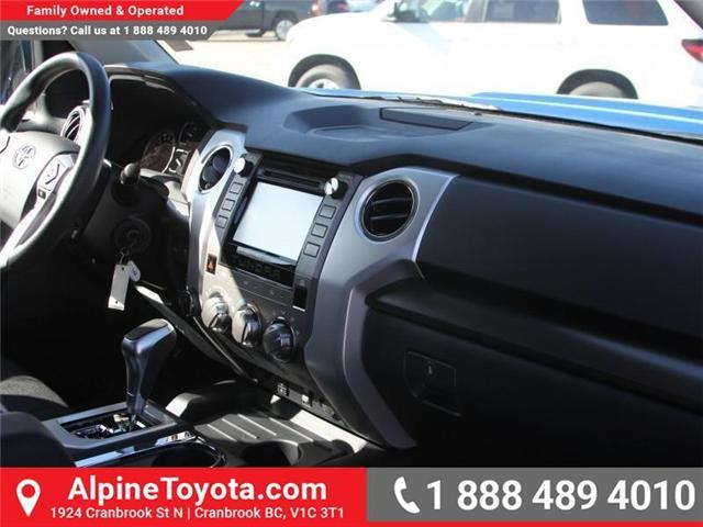 2018 Toyota Tundra  (Stk: X731665) in Cranbrook - Image 10 of 17
