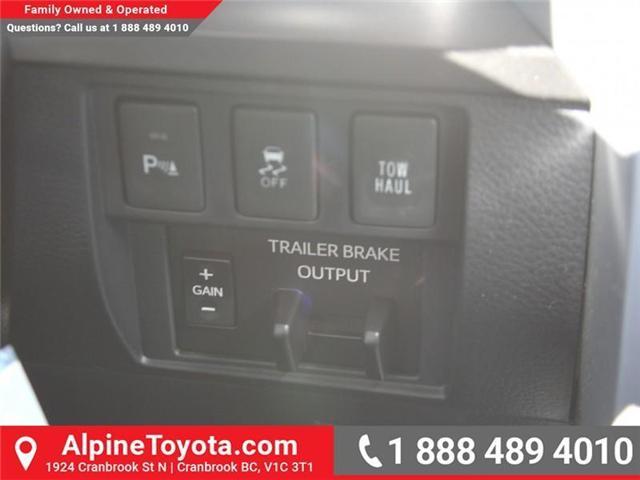 2018 Toyota Tundra  (Stk: X731665) in Cranbrook - Image 14 of 17
