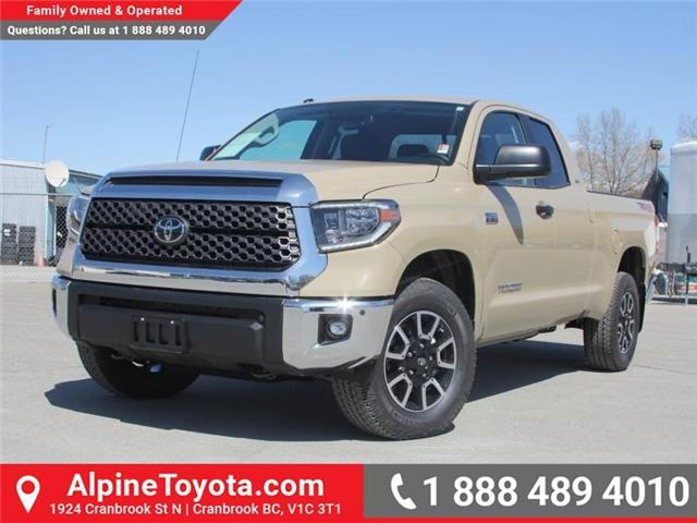2018 Toyota Tundra  (Stk: X736278) in Cranbrook - Image 1 of 16