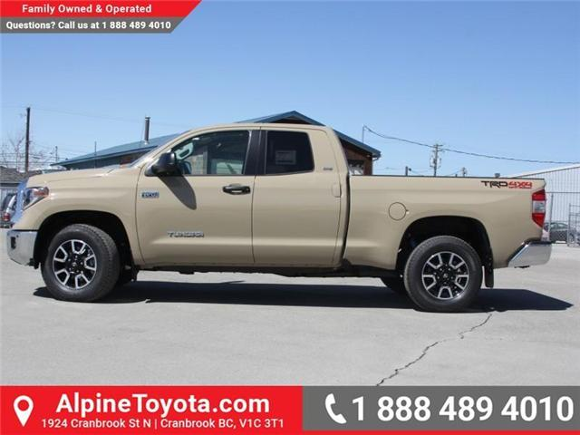 2018 Toyota Tundra  (Stk: X736278) in Cranbrook - Image 2 of 16
