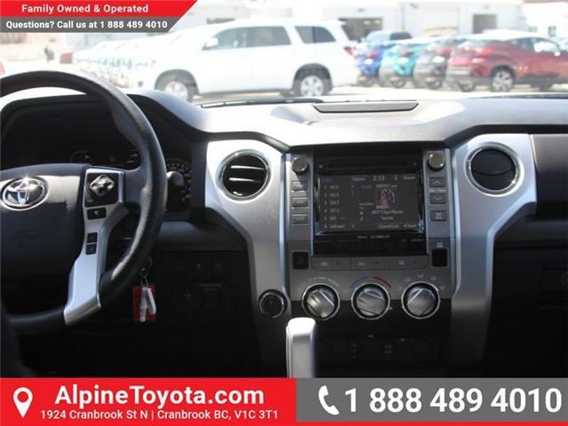 2018 Toyota Tundra  (Stk: X736278) in Cranbrook - Image 10 of 16
