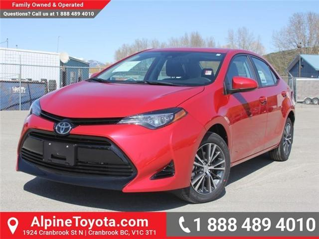 2018 Toyota Corolla LE (Stk: C088676) in Cranbrook - Image 1 of 18