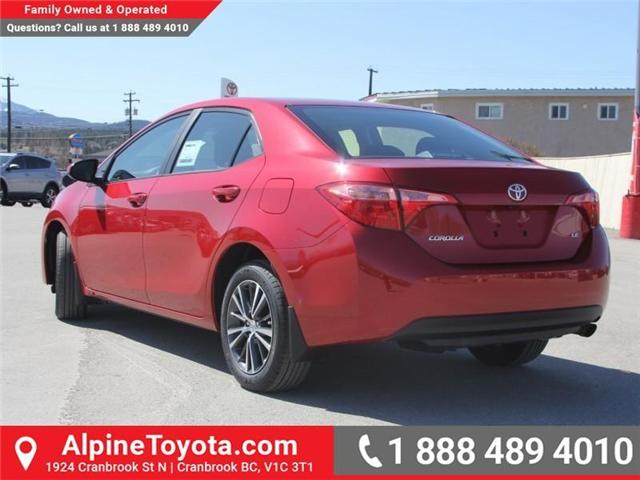 2018 Toyota Corolla LE (Stk: C088676) in Cranbrook - Image 3 of 18