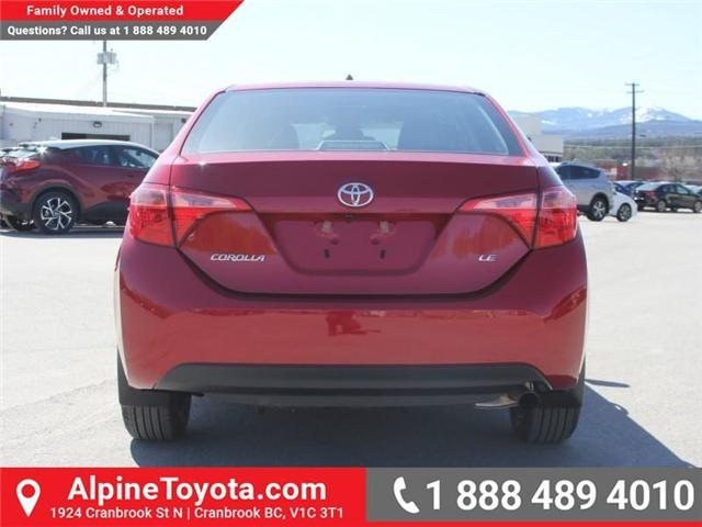 2018 Toyota Corolla LE (Stk: C088676) in Cranbrook - Image 4 of 18