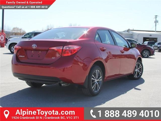 2018 Toyota Corolla LE (Stk: C088676) in Cranbrook - Image 5 of 18