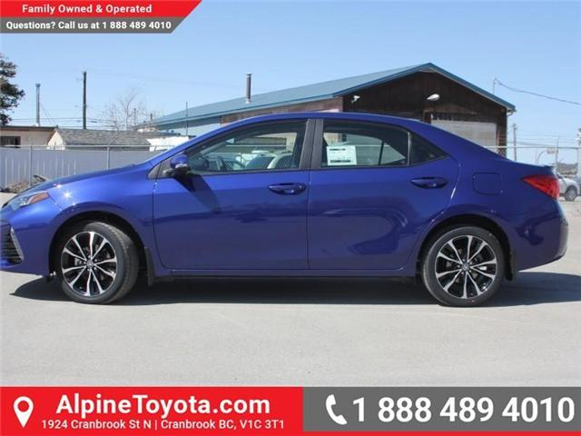 2018 Toyota Corolla SE (Stk: C089532) in Cranbrook - Image 2 of 18