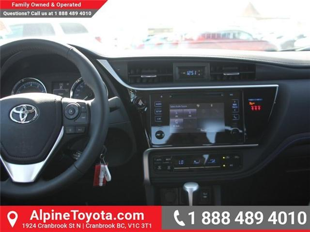2018 Toyota Corolla SE (Stk: C089532) in Cranbrook - Image 10 of 18