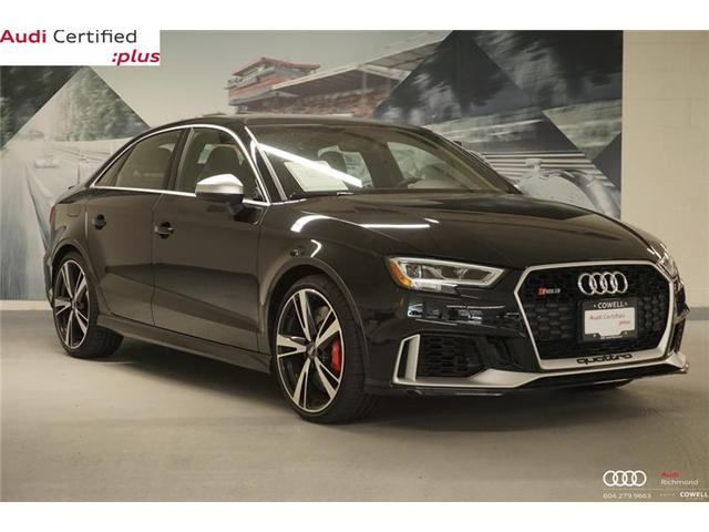 2018 Audi RS 3 2.5T (Stk: A2380A) in Richmond - Image 1 of 18