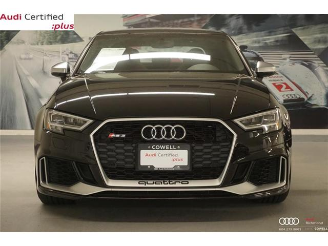 2018 Audi RS 3 2.5T (Stk: A2380A) in Richmond - Image 2 of 18