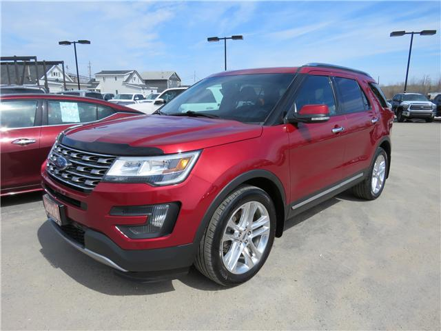 2016 Ford Explorer Limited (Stk: P02433) in Timmins - Image 1 of 9