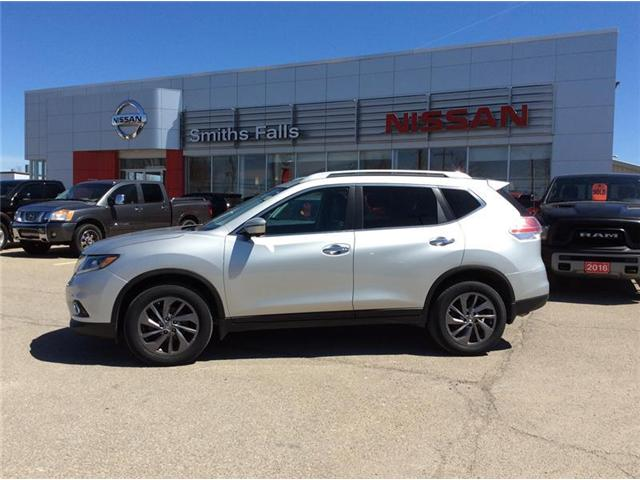 2016 Nissan Rogue SL Premium (Stk: P1916) in Smiths Falls - Image 1 of 12