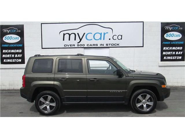 2016 Jeep Patriot Sport/North (Stk: 180372) in Kingston - Image 1 of 14