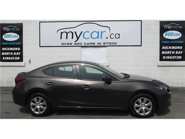 2015 Mazda Mazda3 GX (Stk: 180451) in Kingston - Image 1 of 12