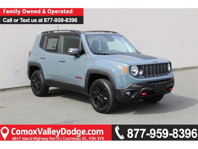 2018 Jeep Renegade Trailhawk (Stk: PG86502) in Courtenay - Image 1 of 30