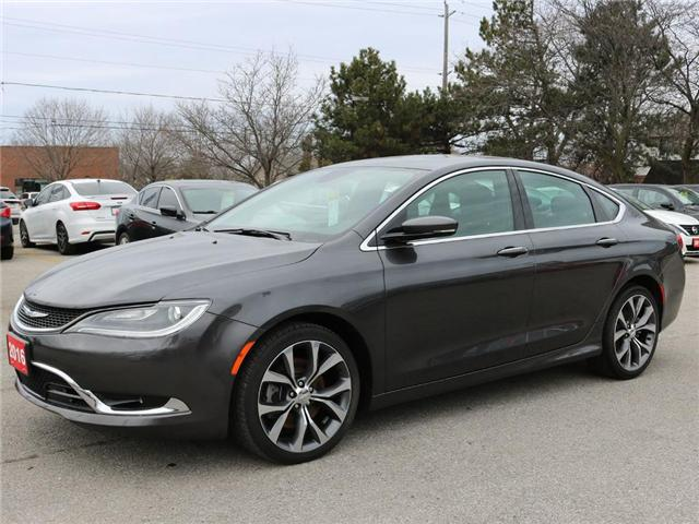 2016 Chrysler 200 C |Pano roof |B-Tooth| Leather |Navi |Backup Cam (Stk: 4965) in Stoney Creek - Image 2 of 20
