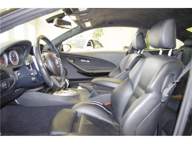 2006 BMW M6 V10 500 HORSEPOWER NO ACCIDENTS LOW KMS! (Stk: 7111) in Edmonton - Image 10 of 21