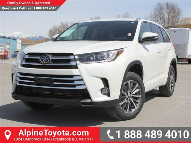 2018 Toyota Highlander  (Stk: S544831) in Cranbrook - Image 1 of 19