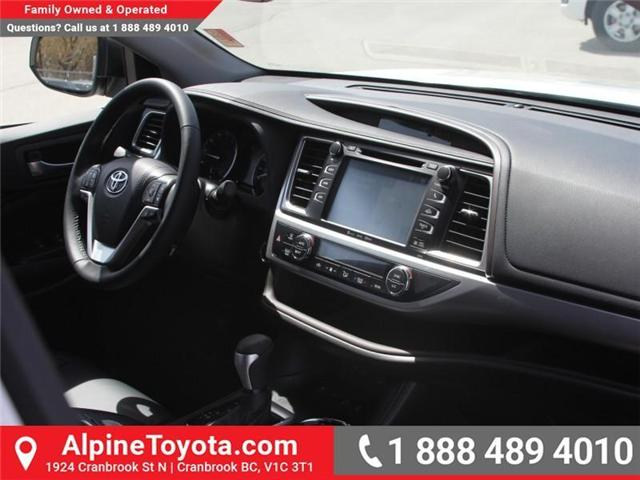 2018 Toyota Highlander  (Stk: S544831) in Cranbrook - Image 11 of 19