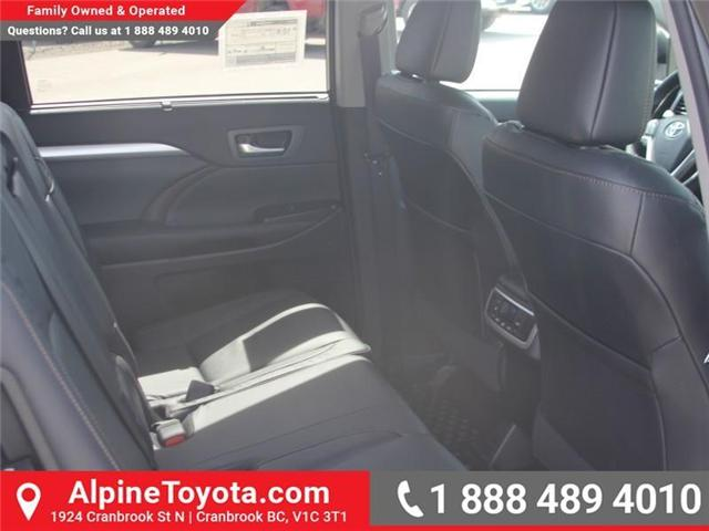 2018 Toyota Highlander  (Stk: S544831) in Cranbrook - Image 12 of 19