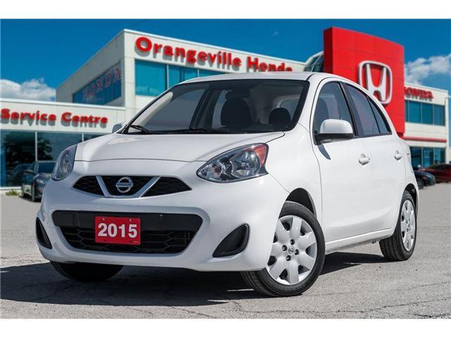2015 Nissan Micra SV (Stk: U2885A) in Orangeville - Image 1 of 20