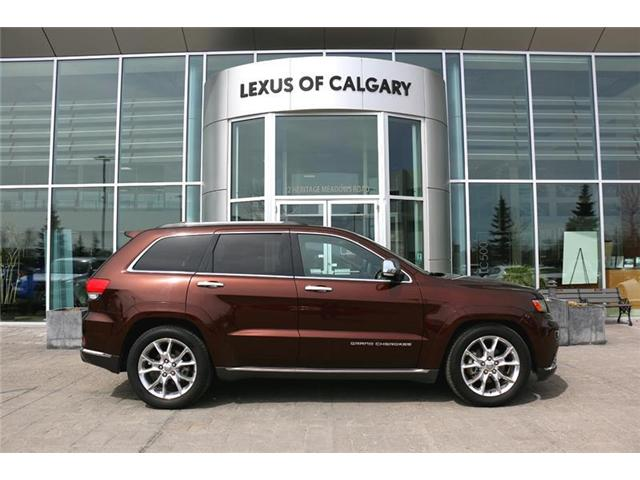 2014 Jeep Grand Cherokee Summit (Stk: 3791A) in Calgary - Image 1 of 15