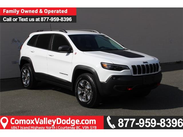 2019 Jeep Cherokee Trailhawk (Stk: D107787) in Courtenay - Image 1 of 30