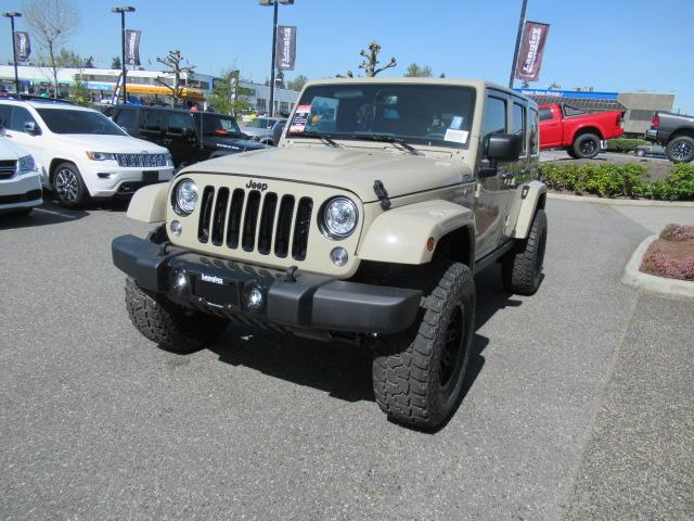 2018 Jeep Wrangler JK Unlimited Sahara (Stk: J841278) in Surrey - Image 2 of 12