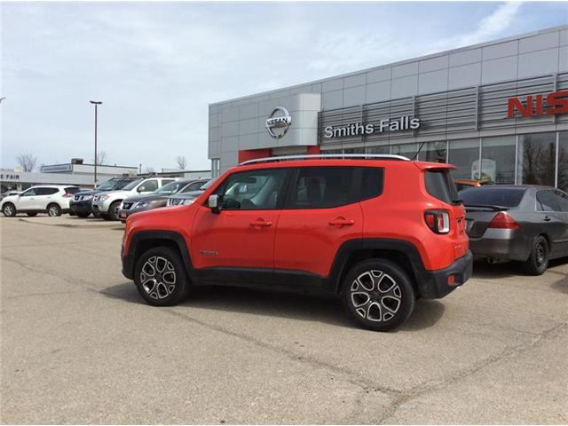 2015 Jeep Renegade Limited (Stk: 17-291B) in Smiths Falls - Image 1 of 13