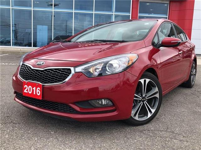 2016 Kia Forte 2.0L EX. HEATED SEATS, BACK CAMERA. CLEAN CARPROOF (Stk: N2711A) in Mississauga - Image 2 of 20