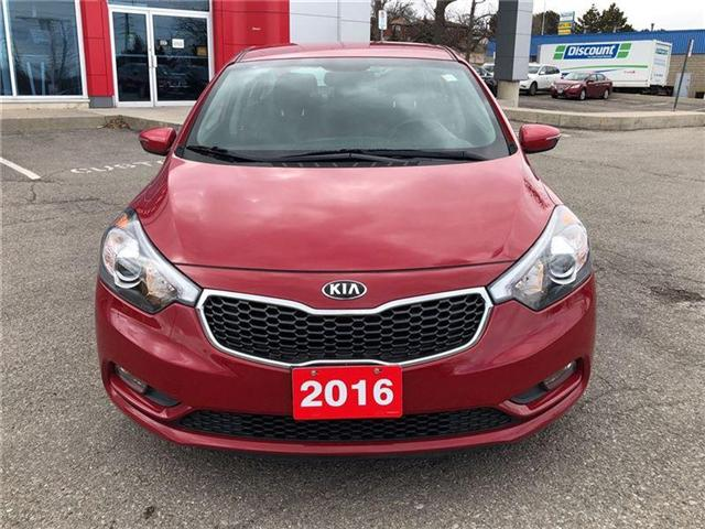 2016 Kia Forte 2.0L EX. HEATED SEATS, BACK CAMERA. CLEAN CARPROOF (Stk: N2711A) in Mississauga - Image 3 of 20