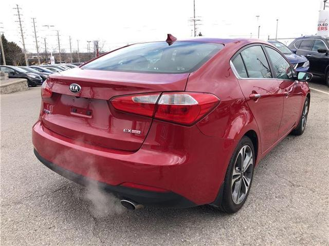 2016 Kia Forte 2.0L EX. HEATED SEATS, BACK CAMERA. CLEAN CARPROOF (Stk: N2711A) in Mississauga - Image 6 of 20