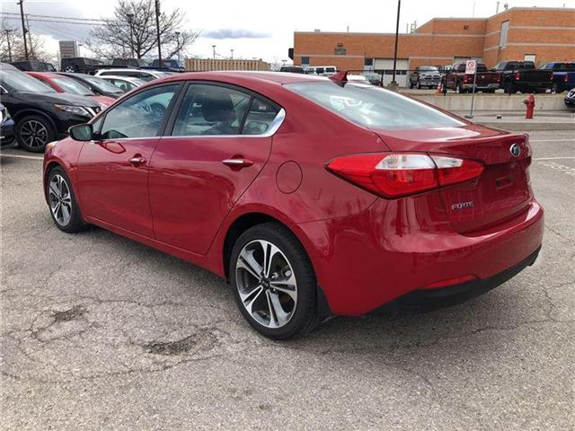 2016 Kia Forte 2.0L EX. HEATED SEATS, BACK CAMERA. CLEAN CARPROOF (Stk: N2711A) in Mississauga - Image 8 of 20