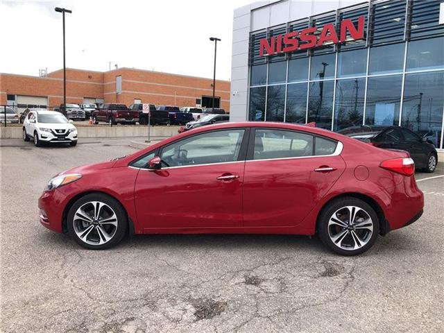2016 Kia Forte 2.0L EX. HEATED SEATS, BACK CAMERA. CLEAN CARPROOF (Stk: N2711A) in Mississauga - Image 9 of 20