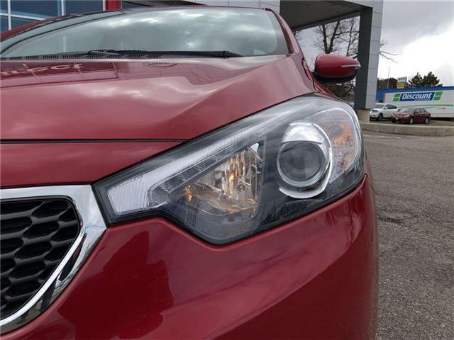 2016 Kia Forte 2.0L EX. HEATED SEATS, BACK CAMERA. CLEAN CARPROOF (Stk: N2711A) in Mississauga - Image 11 of 20