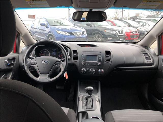 2016 Kia Forte 2.0L EX. HEATED SEATS, BACK CAMERA. CLEAN CARPROOF (Stk: N2711A) in Mississauga - Image 16 of 20