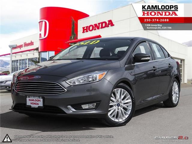 2015 Ford Focus Titanium (Stk: 13823A) in Kamloops - Image 1 of 24