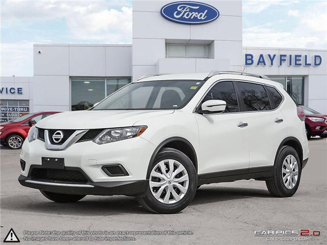2016 Nissan Rogue S (Stk: FP18043A) in Barrie - Image 1 of 27